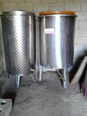 Cisterna in acciaio inox