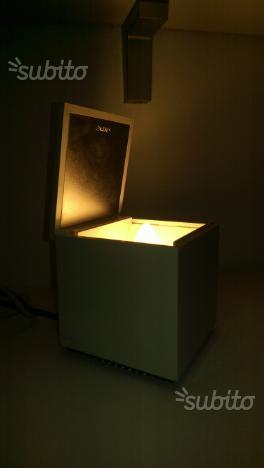 Cuboluce lampada cini & nils originale space age