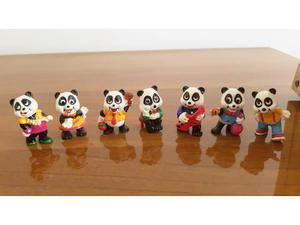 Lotto 7 Sorpresine Kinder Ferrero Serie Panda Party