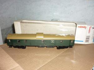 Marklin: carrozza bagagliaio nuova  con scatola