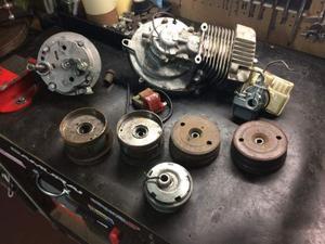 Ricambi motore trasmissione cilindro pinasco piaggio ciao si
