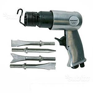 Set martello per bulinare ad aria compressa