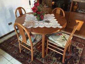 Tavolo pranzo ovale del 700 posot class - Tavolo da pranzo ovale ...