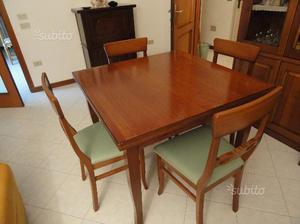 Antico tavolo in legno massiccio allungabile euro posot for Tavolo legno antico allungabile