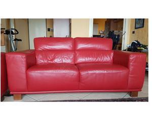 VENDO 2 divani in VERA pelle