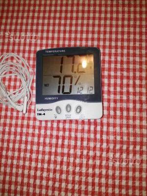 Mini termostato digitale sonda esterna posot class for Lafayette termostato manuale