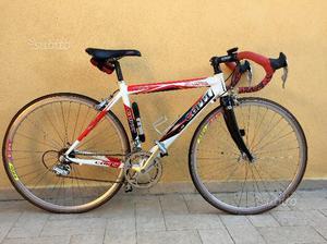 Bici corsa Coppi alluminio e carbonio Campagnolo