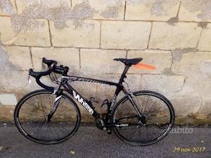 Bici corsa whistle carbonio