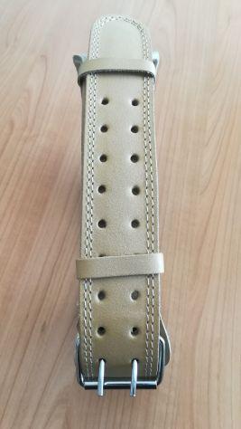 Cintura palestra per sollevamento pesi in pelle