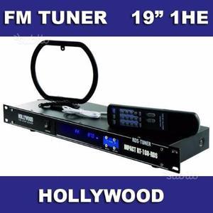 Fm tuner rack 19''
