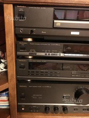 Impianto stereo da casa technics posot class - Impianto stereo casa bose ...