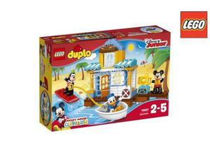 Lego  duplo la casa sulla spiaggia di topolino e i suoi