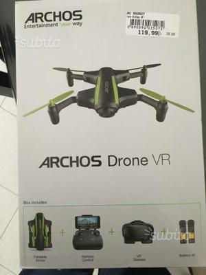 Mini drone quadricottero con videocamera