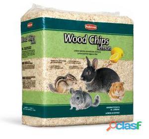 Padovan Wood Chips Lettiera Vegetale Limone 14 lt / 1 Kg