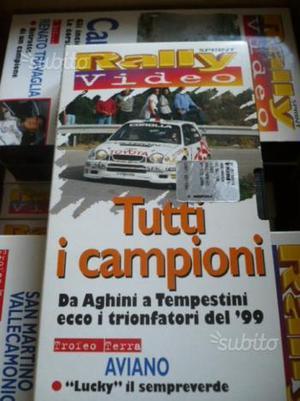 Rally Cassette VHS