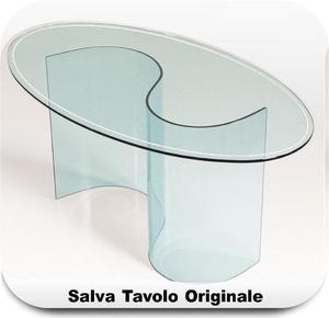 Mollettone tavolo ovale vetro salvatavolo posot class - Tovaglia per tavolo ovale ...