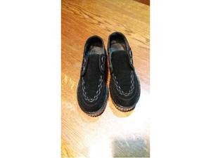 Scarpe creepers donna nere