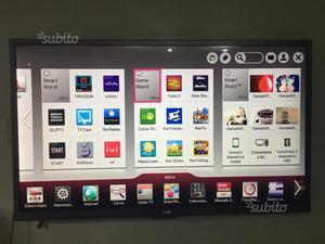"Smart Tv lg led 47"" 3D"