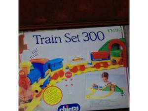 Trenino train set 300 chicco posot class for Trenino cavalcabile chicco