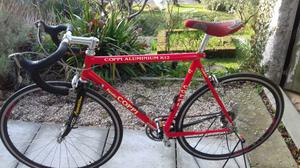 bici corsa fausto coppi k12m rossa ottimo stato con computer