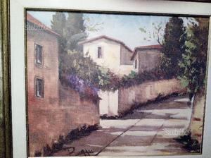 3 dipinti olio su tela