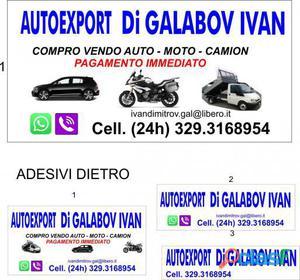 ALTRO COMPRO AUTO,MOTO,CAMION USATE,INCIDENTATE,FUSE in