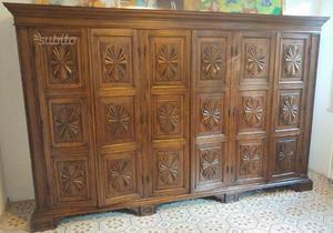 Camera da letto in legno massello