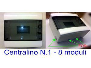 Centralini 8 Moduli (2 pezzi)