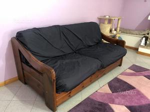 Divano letto autentico vintage stile industry posot class - Divano letto vintage ...