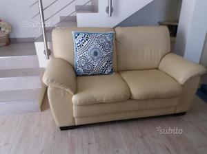 Due divani da 2 posti in pelle