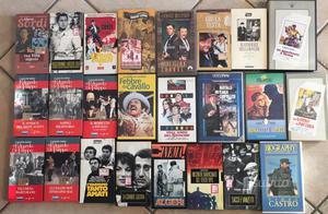 Film VHS 24 Pezzi titoli vari