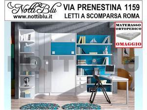 Letti a Scomparsa _ Letto Singolo SE399 Materasso Omaggio