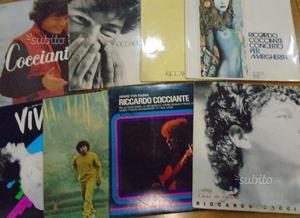 Lotto vari album vinile Riccardo Cocciante