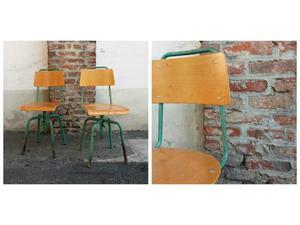 Sedie sgabelli industrial vintage posot class