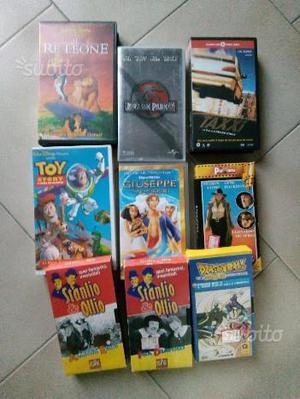 Video cassete vari film