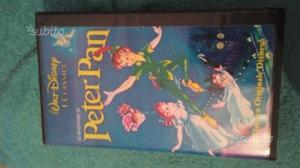 Videocassetta le avventure di Peter Pan 74'