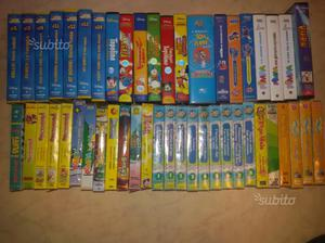 Videocassette originali cartoni animati in vhs
