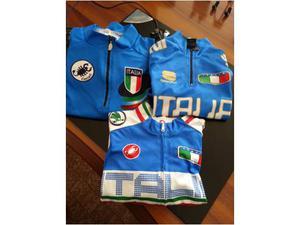 Collezione completa maglie ciclismo ITALIA 6 pezzi