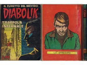 Diabolik prima serie n° 10 originale prima edizione