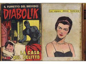 Diabolik prima serie n° 12 originale prima edizione