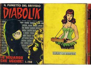 Diabolik prima serie n° 17 originale prima edizione