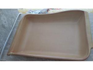 Pirofila da forno di forma ovale in terracotta posot class - Forno di terracotta ...