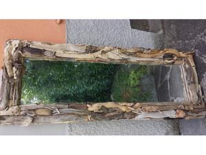 Lampada in edera radici legni mare tronchi posot class for Legni di mare arredamento