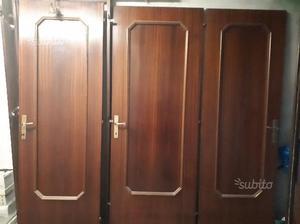 3 porte interne in legno
