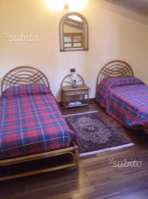 Arredamento camera da letto in giunco