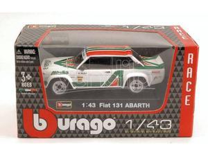 Bburago BU FIAT 131 ABARTH ALITALIA 1:43 Modellino