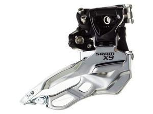 Deragliatore anteriore mtb Sram X9 per 3x10v 34,9mm dual