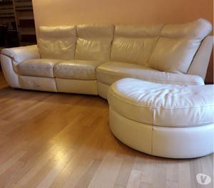 Vendo divano natuzzi in pelle panna posot class - Divano pelle natuzzi ...