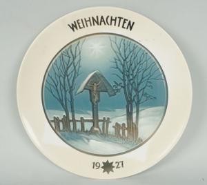 Piatto porcellana Rosenthal Selb Bavaria - Natale Christmas