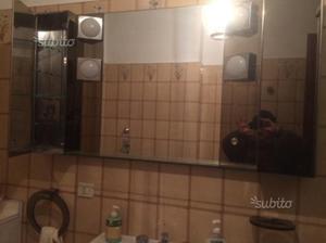 Specchio da bagno in cristallo